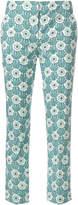 Prada floral print trousers