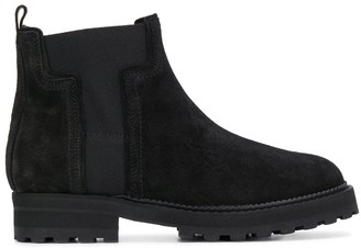 Tod's side logo Chelsea boots