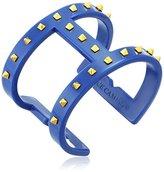 Vince Camuto Resin Studded T Bar Deep Sea Cuff Bracelet