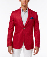 Tallia Men's Big & Tall Slim-Fit Tonal Geo Sport Coat