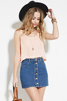 Forever 21 FOREVER 21+ Boxy Woven Top