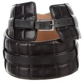 Chanel Quilted Corset Belt