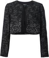 Paule Ka woven cropped jacket