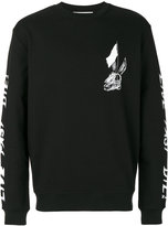 McQ by Alexander McQueen skull print sweatshirt - men - Cotton - S