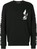 McQ skull print sweatshirt