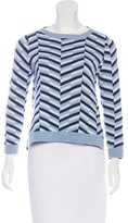 Lisa Perry Cashmere Patterned Sweater