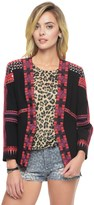 Juicy Couture Crepe Mirror Embroidered Jacket