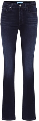 7 For All Mankind B(AIR) mid-rise straight jeans