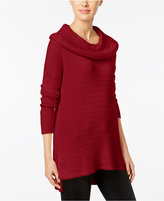 Style&Co. Style & Co. Petite Cowl-Neck Tunic Sweater, Only at Macy's
