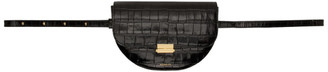 Wandler Black Croc Anna Belt Bag