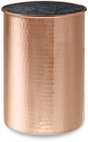 Williams-Sonoma Williams Sonoma Hammered Copper Knife Holder with Kapoosh® Insert