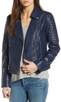 Andrew Marc Women's Leanne Faux Leather Jacket