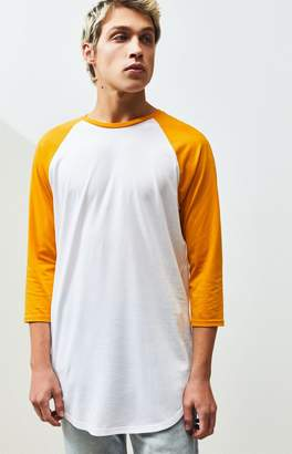 Proenza Schouler Basics Basics Remy Raglan 3/4 Sleeve Scallop T-Shirt
