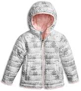 The North Face Girls' Printed Reversible Puffer Jacket - Little Kid