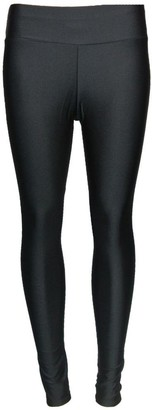 Up Town Womens Shiny American Disco High Waisted Pvc Wet Look Pants Leggings Trousers : Color - Black : Size - S/M
