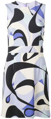 Emilio Pucci Alex Print Sleeveless Mini Dress