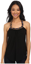 T-Bags LosAngeles Tbags Los Angeles Halter Top with Chain Neckpiece