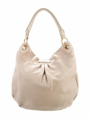 Marc by Marc Jacobs Leather Hobo Bag Gold