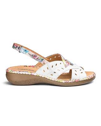 Cushion Walk Comfort Sandals E Fit