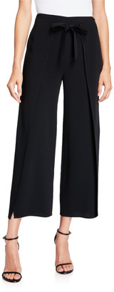 Cinq à Sept Renata Tie-Front Ankle Pants