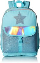 The Children's Place Big Girls Glitter Backpack, Pastelblue