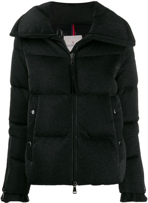 Moncler Oversized Collar Puffer Jacket
