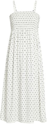 Solid & Striped Willow Polka Dot Cotton Dress