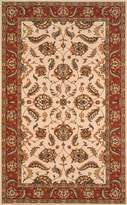 Momeni Rugs PERGAPG-10IVY96D0 Persian Garden Collection, 100% New Zealand Wool Traditional Area Rug