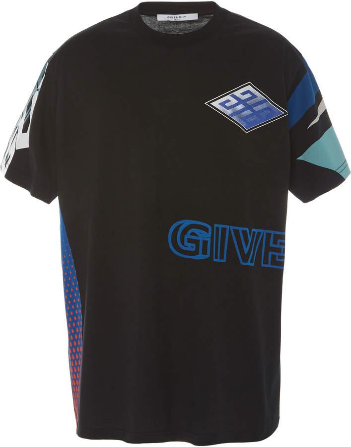 Givenchy Logo-Printed Oversized Cotton T-Shirt