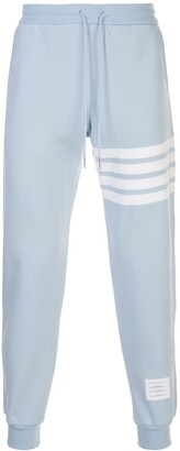 Thom Browne Four-Bar Detailed Track Pants