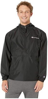 Champion Packable Jacket (Black) Men's Coat