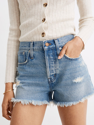 Madewell Rigid High Rise Boy Short