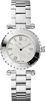 GUESS GUESS? Collection Women's X70001L1S Silver Stainless-Steel Swiss Quartz Watch with Mother-Of-Pearl Dial