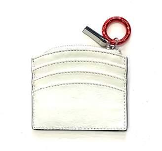 Cala Vela Shiny Patent Leather Sunrise Zip Card Holder