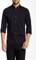 Lindbergh Garment Dyed Long Sleeve Regular Fit Shirt