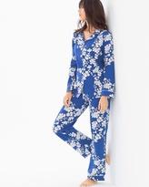 Soma Intimates Knit Classic Cotton-blend Pajama Set