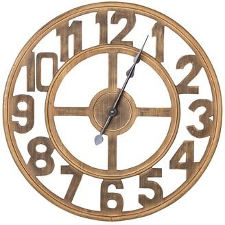 Jen Wood Wall Clock