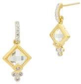 Freida Rothman Petite Drop Earrings