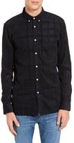 Barney Cools Men's Cabin Plaid Woven Shirt