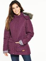 Trespass Jenna Quilted Jacket - Purple