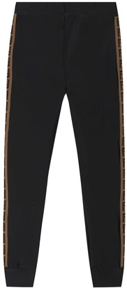 Fendi FF jersey trackpants