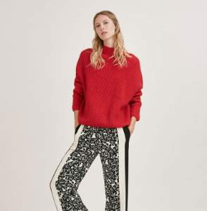 Suncoo Red Parfait Knit Jumper - 6