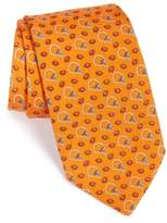 Vineyard Vines Men's 'Cleveland Browns - Nfl' Woven Silk Tie