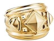 David Yurman 18K Yellow Gold Bold Renaissance Wide Ring