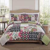 Bed Bath & Beyond Gypsy Pink Block Twin Quilt Set