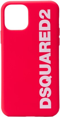 DSQUARED2 logo print iPhone 11 Pro case
