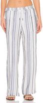 Stateside Vertical Charcoal Stripe Veil Pant