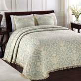 Bed Bath & Beyond Lamont HomeTM All Over Brocade Standard Pillow Sham in Blue