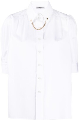 Givenchy Chain Detail Shirt