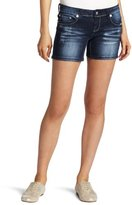 YMI Jeanswear Juniors Embroidered Short